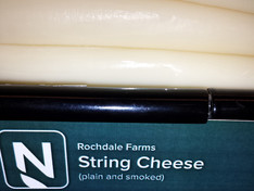 Rochdale Farms String Cheese is a part of Seward Coop's Nourish program