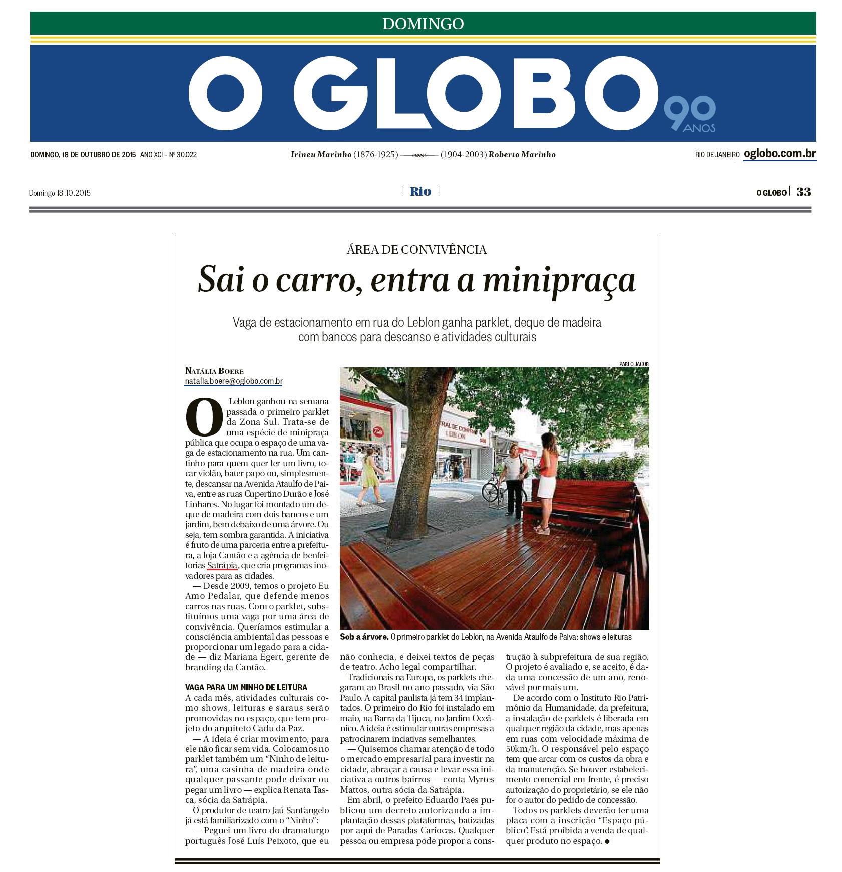 Satrápia_O Globo_18.10