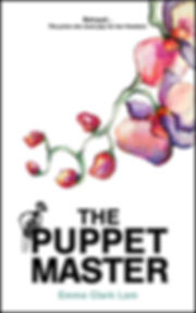 Book cover for The Puppet Master by Emma Clark Lam author