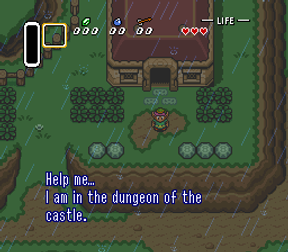 Links house in Legend of Zelda link to the past
