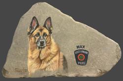 """Police Dog """"Max"""""""