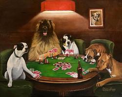 Todd's poker dog's