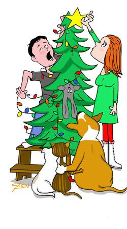 """""""Lighting the Xmas tree"""""""