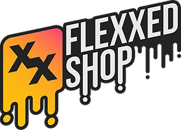 Flexxed Shop New Logo with Outline and D