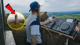 DJ performs to Darwen and nobody knew