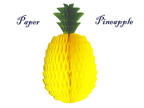 Pineapple Paper Lantern
