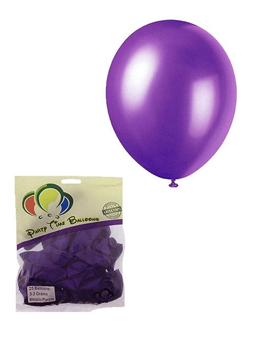 Purple Metallic Balloon