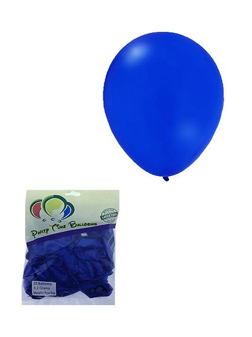 Blue Metallic Balloon