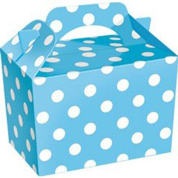 Blue Polka-Dot Party Box