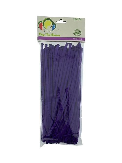 Purple Long Balloons