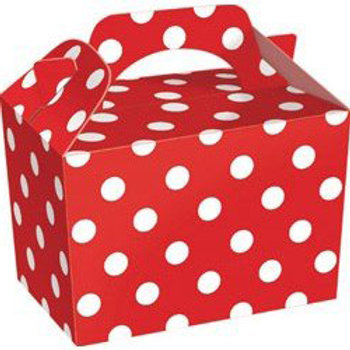 Red Polka-Dot Party Box