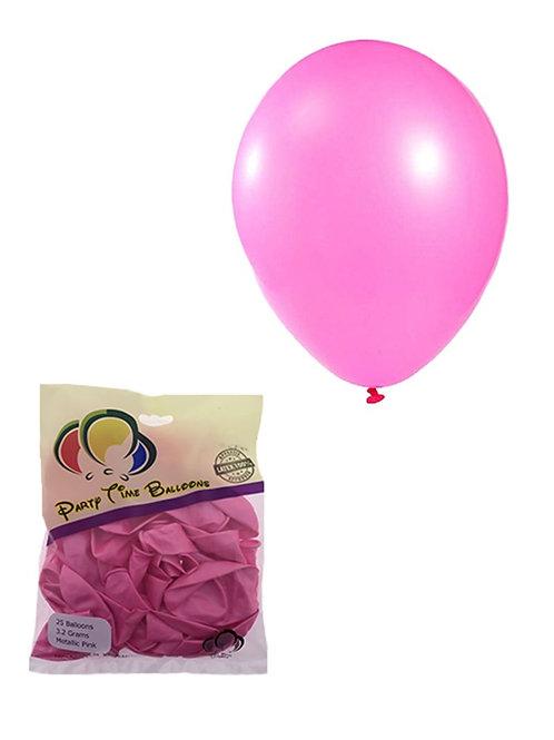 Pink Metallic Balloon