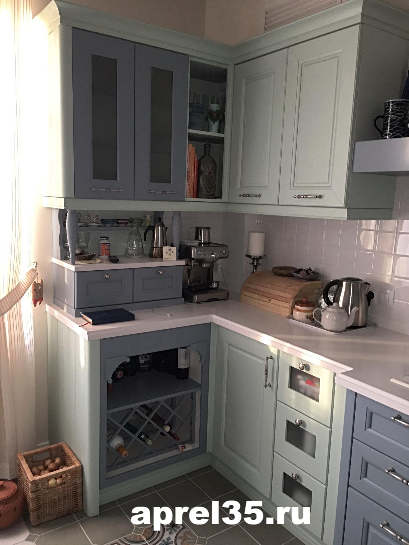 Кухни Прованс. Фото