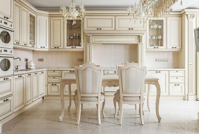 Кухня в стиле классика на заказ в Вологде. Салон Апрель