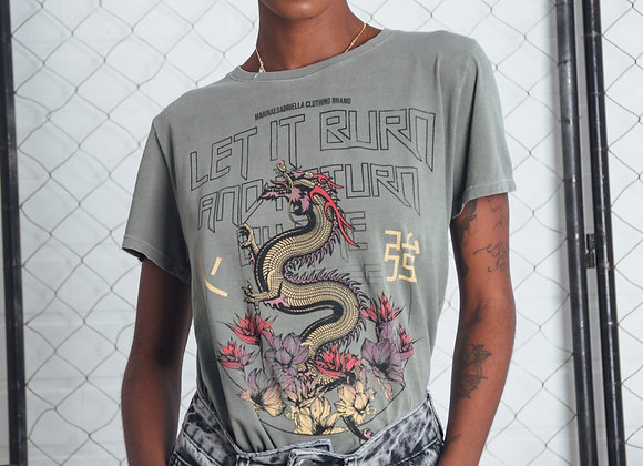 T-SHIRT ORIENTAL DRAGON