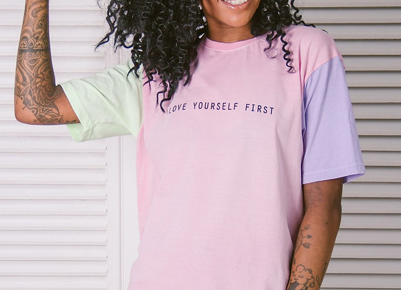 T-SHIRT M&G CANDY LOVE YOURSELF FIRST