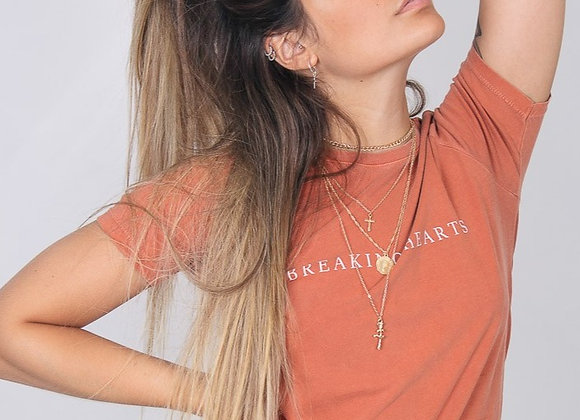 T-Shirt M&G Estampa nas Costas Borboletas