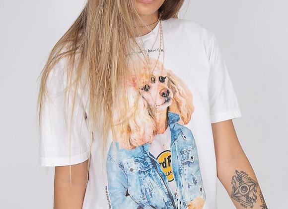 T-Shirt Dog Hard Rock Café