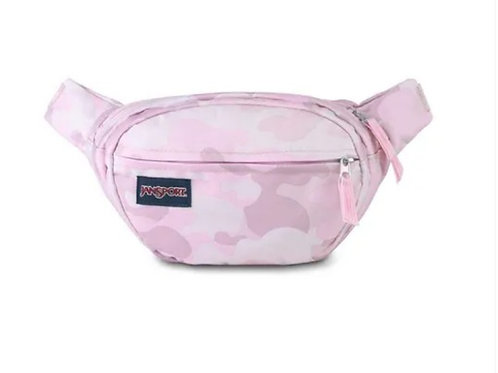 Pochete Jansport camuflada-rosa