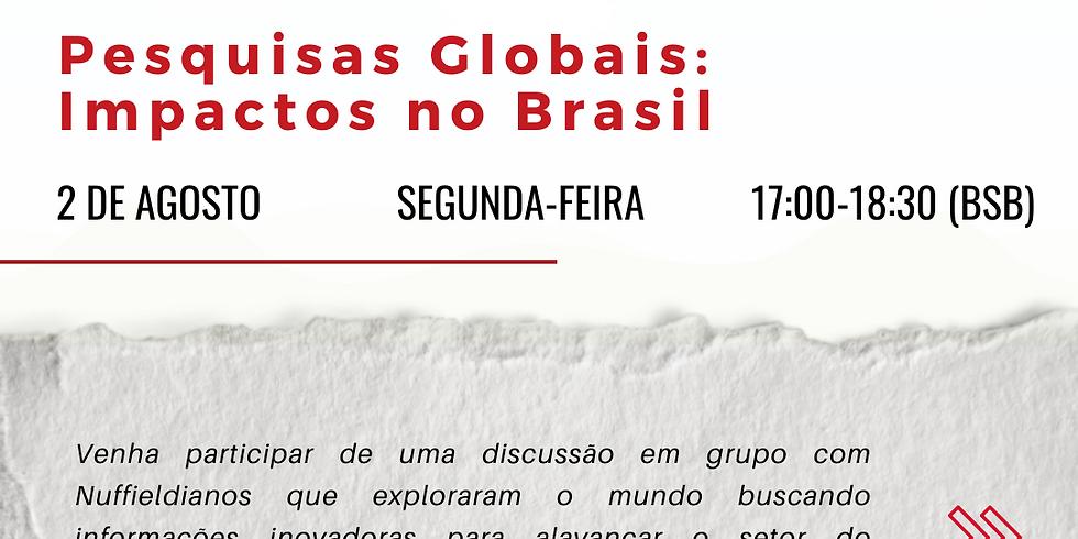 """Seminário """"Pesquisas Globais: Impactos no Brasil"""""""