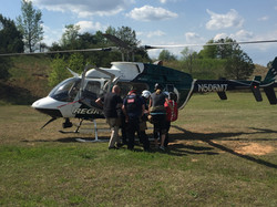 TMP Students Loading An Aircraft