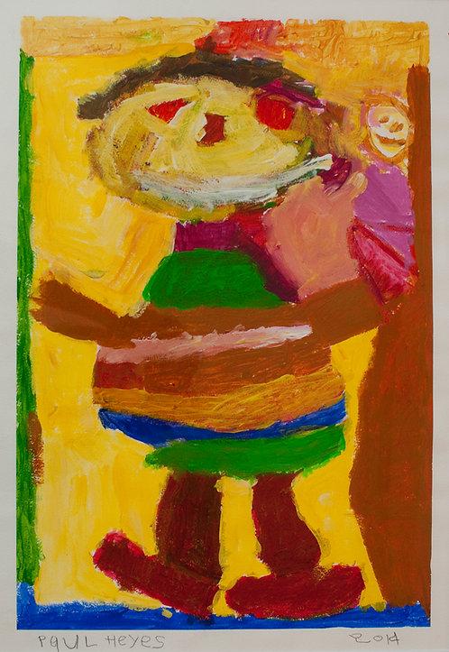 Self Portrait : Paul Heyes