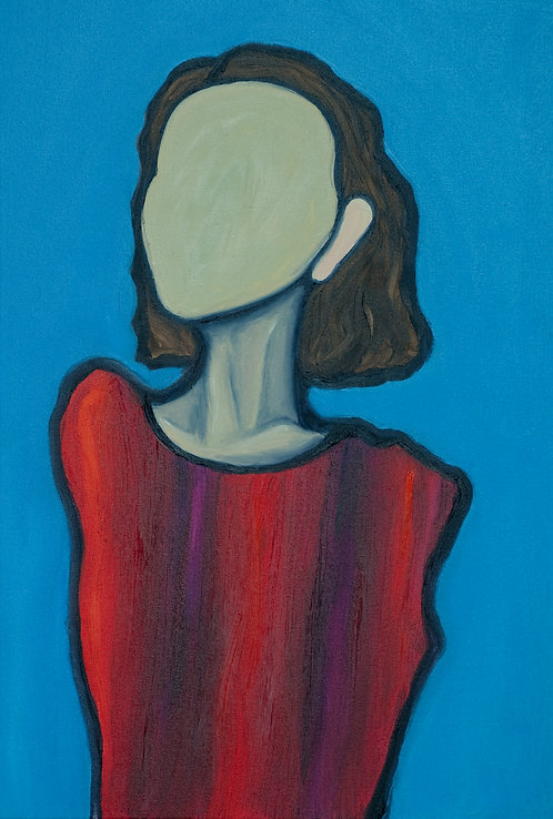Self portrait : Maisie Chilton Tressler