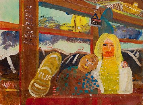 As we sail the seas in our yellow submarine : Fergus Collinson