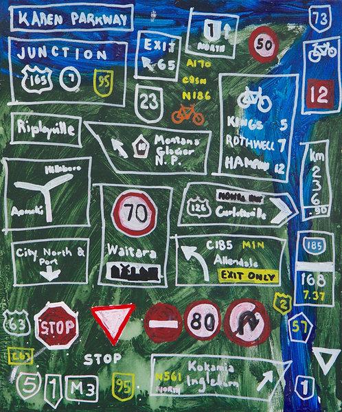 Road signs & Maps : Farish Ali