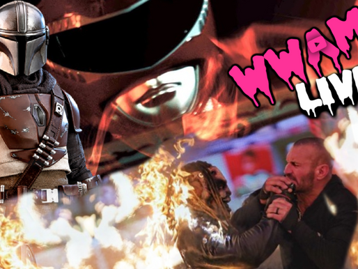 WWAM Covers The Mandalorian, WWE's TLC PPV + Interviews the Newest Red Ranger (Video or Audio)