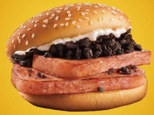 NIGHTMARE NUTRIENTS - McDonald's China's OREO SPAM BURGER