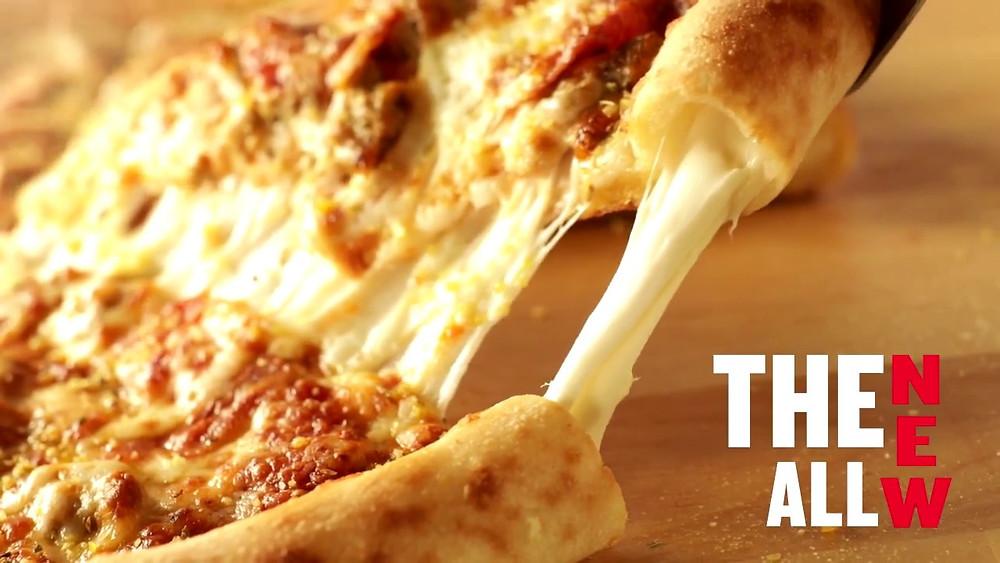 Papa Johns Stuffed Crust Pizza