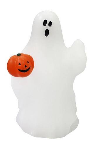 Cute Ghost Pumpkin Candle