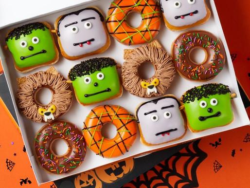 NIGHTMARE NUTRIENTS: Check Out Krispy Kreme's New Halloween Donuts