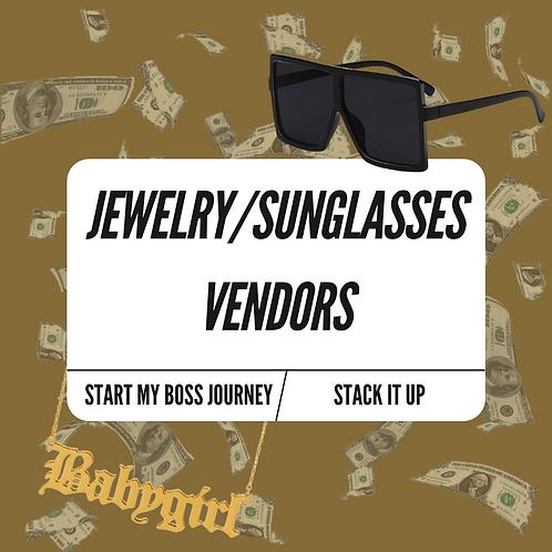 Jewelry/Sunglasses Vendor