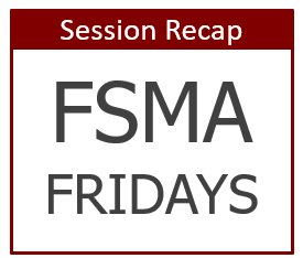 Industry Trends in the Age of FSMA: FDA 483s