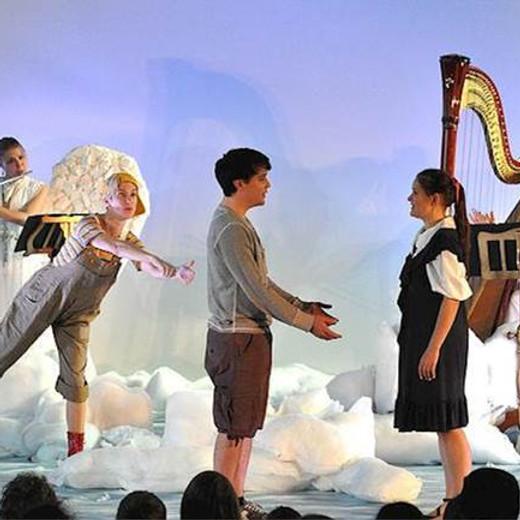 DIE HIMMLISCHEN STROLCHE. Theater für Kinder