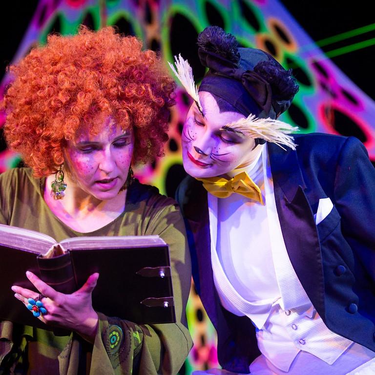 HEXE HILLARY GEHT IN DIE OPER. Theater für Kinder