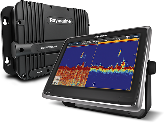 NEW - Raymarine CP370 Digital Sonar Module