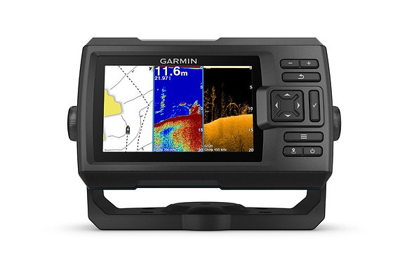 New Garmin STRIKER Plus 5cv Colour Sounder Sonar Fish Finder GPS + GT20-TM Trans