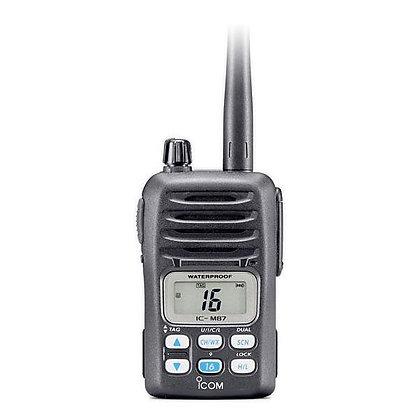 IC-M87 Compact Waterproof VHF Marine/PBR Handheld Radio