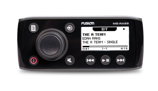 Compact Marine Stereo with Bluetooth Audio Streaming