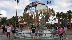 Bartosz w Universal Studio
