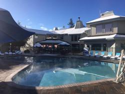 Beach Retreat pool Work and Travel IECenter