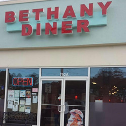 Bethany Diner entrance Work and Travel IECenter