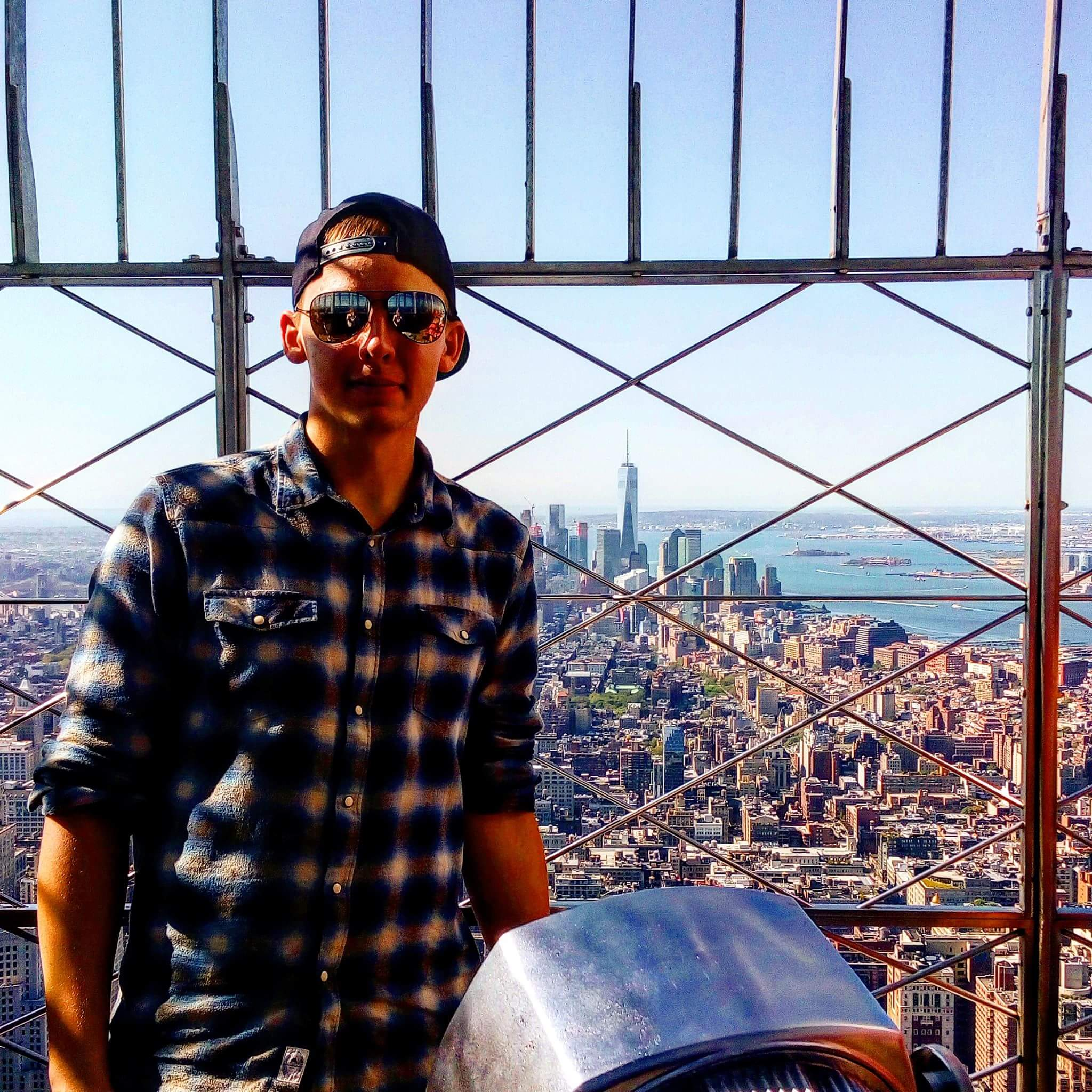 Adrian na Empire State Building
