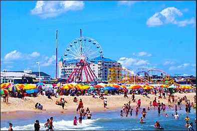Ocean City Beach 2 Work and Travel IECenter