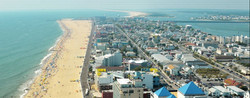 Ocean City from above Work and Travel IECenter