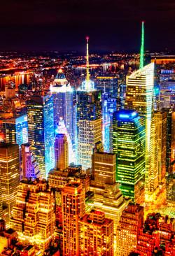 Manhattan_nocą_New_York_wycieczka