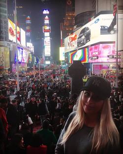 Magda na Times Square